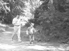 I just got an e-mail with this link in it. Turns out, it's a story about how to go to Franklin Canyon and recreate Andy and Opie walking to Myers Lake just like the opening of The Andy Griffith Show. They used the video that Jan shot of Adam and me doing just that and compared it to the original