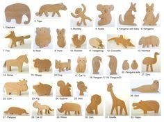 Custom order Wooden toys set of 35 by mielasiela on Etsy