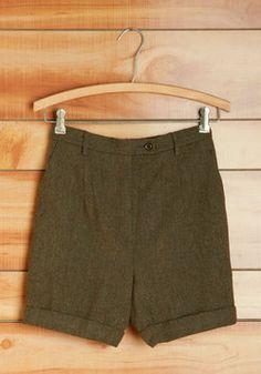 Vintage Pendleton Dublin Step Shorts, #ModCloth