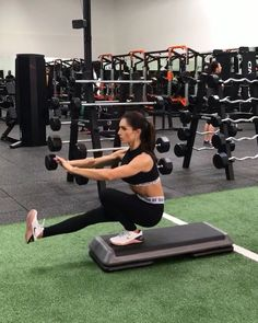 """11.5k Likes, 307 Comments - Alexia Clark (@alexia_clark) on Instagram: """"Pistol Plyo Sunday Add any of these to an ending circuit on a leg day for some extra fire.…"""""""