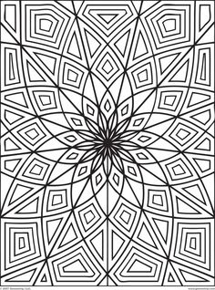 Geometric Coloring Pages To Print Free Printable Tattoo Page 11