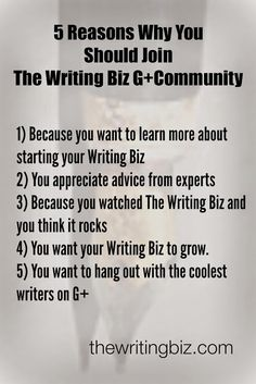 Are you looking for a community of writers who are also trying to meet the challenges of running a writing business?  Being a writerpreneur is not easy and if you don't take time to plan your business, manage your tasks and gain the knowledge you need to succeed you are facing a hard road, my friend.