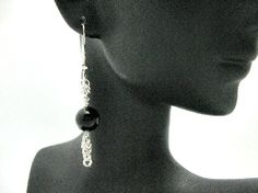 Chainmaille by MBOI Sterling Silver Earrings