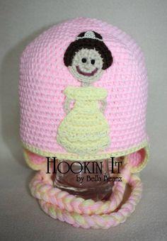 Princess Belle Inspired Hat