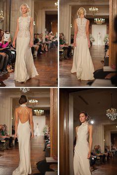 Silverbell marigold Jenny Packham Bridal Collection 2013