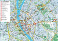 Budapest City Map Tourist
