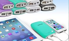 Groupon - Aduro PowerUp Pebble Portable Battery Packs in 4000mAh, 6000mAh and 8000mAh from $ 14.99–$24.99  in [missing {{location}} value]. Groupon deal price: $14.99