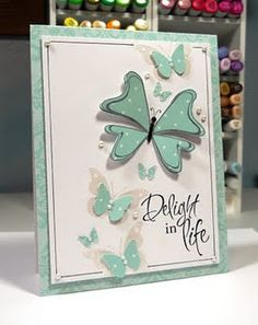 Love this card from Deb at happiness Blooms blog