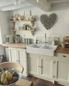 Don't care for the kitchen, but want that heart above the sink!