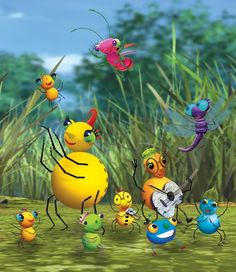 Miss Spider's Sunny Patch Friends! I watched this as a kid!
