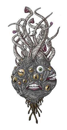 SHUB-NIGGURATH - art by Michael Bukowski