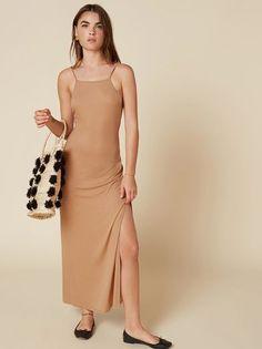 The Cava Dress  https://www.thereformation.com/products/cava-dress-buff?utm_source=pinterest&utm_medium=organic&utm_campaign=PinterestOwnedPins