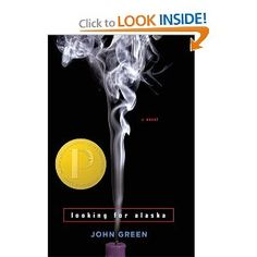 Looking For Alaska by John Green! So amazing, the type of book that makes you think, but not too much.