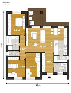 Projekty rodinných domov - projekt domu ELKO110