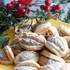 Ořechové škebličky - My site Czech Recipes, Russian Recipes, Christmas Baking, Christmas Cookies, Christmas Recipes, Sweet Desserts, Sweet Recipes, Food Crafts, Mexican Food Recipes