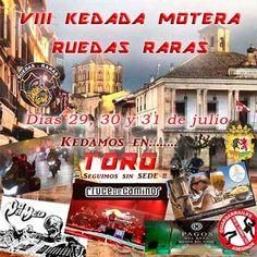 VII Kedada Motera Ruedas Raras -  Toro (Zamora)
