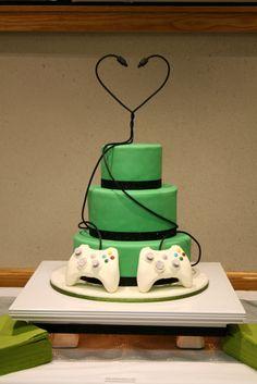 Nerrrd wedding cake!