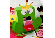 Frog Prince Valentine Card Holder