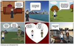 Complete story with Storyboardthat.com