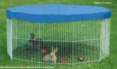 Outdoor Indoor Rabbit Cage With Playpens