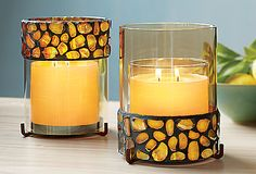 Aurora Candle Sleeve = two candle sleeves in one! #PartyLite http://eliciaorsbourn.partylite.co.uk Facebook Page: PartyLite by Elicia