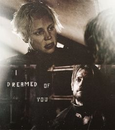 Jamie's popular quote to Brienne when he came to rescue her from the bear!