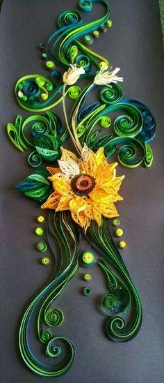 Superbe fleur en papier... ...