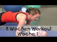 8 Workout für Mutter und Baby (von fitdankbaby) - Woche 1 - YouTube