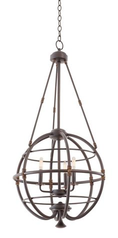 Kalco Lighting 500451TP Larson 3 Light Pendant In Tawny Port is made by the brand Kalco Lighting and is a member of the Larson collection. It has a part number of 500451TP.