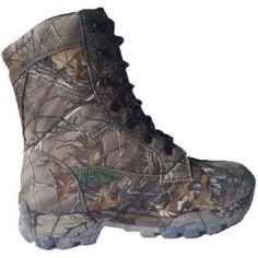Herman Surviviors Men's 8 inch Realtree Waterproof Wide Width Hunting Boot, Size: 10.5, Green