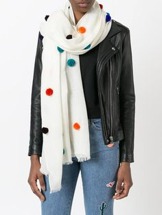 Ps By Paul Smith pom pom scarf
