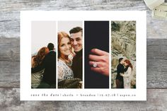 Special Snapshots Save The Date Cards by Bethan at minted.com