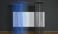 "Jesús Rafael Soto's ""Enveloping Works"" On View at the Pompidou Center"