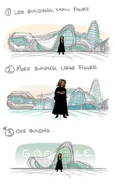 Gallery of Zaha Hadid Celebrated in Latest Google Doodle - 2