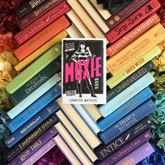 Ive been craving both contemporary  and girl power books...which might mean its time to read this beauty.  What kind of books have you been craving lately?  SYNOPSIS MOXIE GIRLS FIGHT BACK! . Vivian Carter is fed up. Fed up with an administration at her high school that thinks the football team can do no wrong. Fed up with sexist dress codes hallway harassment and gross comments from guys during class. But most of all Viv Carter is fed up with always following the rules. . Viv's mom was a…