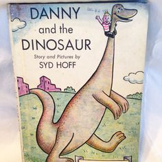 "Syd Hoff's ""Danny and the Dinosaur"" Book -Vintage I Can  Read Kids Book 1958 by RetroVintageHeart on Etsy"