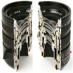 Cross-section of a Leica lens    AKA - Why Leica's are so freaking expensive