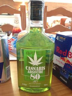 Cannabis Absinthe; easy to make your own tincture!