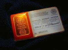 1 oz of Gold - Gold as an investment - Wikipedia, the free encyclopedia