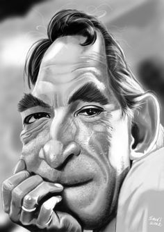 #Anthony_Quinn (Caricature)