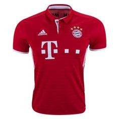 adidas Bayern Munich Home Jersey (Red/White)