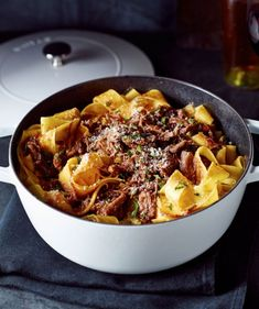 A short rib ragù makes an impressive showing for Sunday supper or at an Italian-themed dinner party.