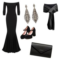 """""""Black Party"""" by coolpersons-5 on Polyvore featuring KamaliKulture and Balenciaga"""