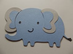 Elephant Cut Outs  Safari Animal Cut Outs  FREE by TheLoveofPaper5