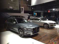 #Volvo V90, V90 Cross Country conquer crowds in Montreal | Car News | Auto123