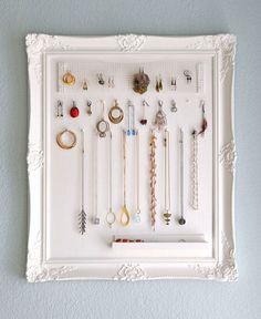 diy decoracion soporte de collares