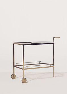Gin Lane Bar Cart by Yabu Pushelberg | Bar Trolley Libation Cart