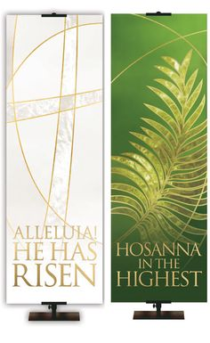 Easter Liturgical Collection Banners