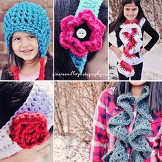 Crocheting 101- basics & super cute projects.