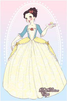 Snow White by PinkPetalEntrance.deviantart.com on @deviantART